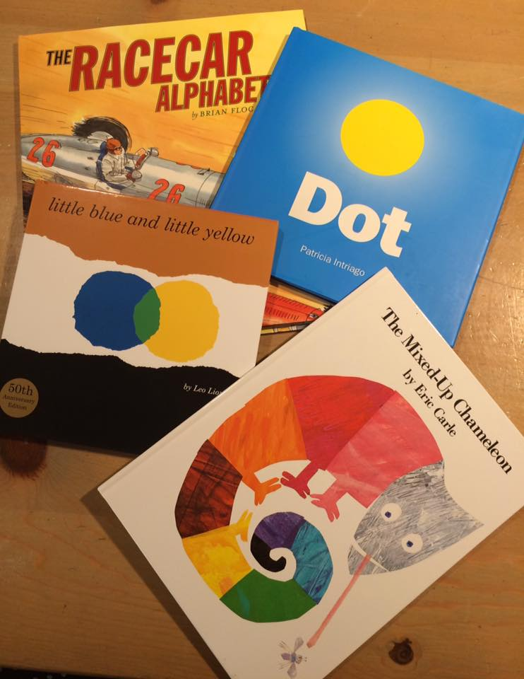 Children's books selected for the program